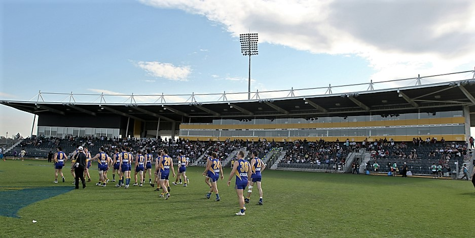 Grand Final venue - Saturday September 17th 2016 (Photo courtesy of Michael Vettas.)